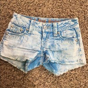 Women's rock Revival denim shorts size 24